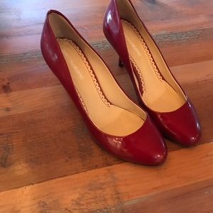 Johnson and Murphy red heels